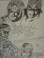 Evil Ryu: The Journey Begins by WillOTheWhisp
