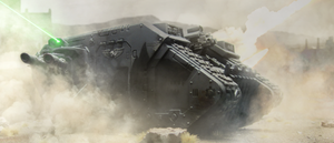 Land Raider: If you absolutely have to get there. by ARKURION