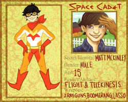 Justice Knights: Space Cadet by mellocat