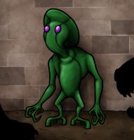 Farmersville Green Man by Monster-Man-08
