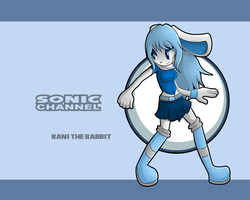 PC: RaniTheRabbit-Rani Sonic Channel by skysong-angel