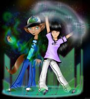 Tak and Mai  Magic by AnotherLuciDreamer