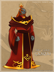 Fire Lord Ganzai by tavington
