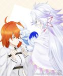 Merlin and Gudako - Fate Grand Order by darc-rose