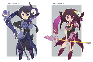 RPG Adopts: Battle Mage [closed] by professorsugoi