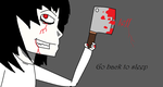 Jeff the killer by xXMRoctosquidXx