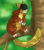 Tree Kangaskhan by nepryne