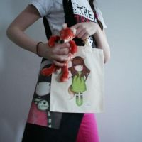 Kitsune - tote bag - ChildSize by gorjuss