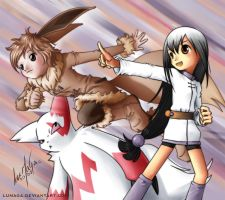 Eevee I choose you by Lumaga