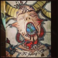 Better Pic Of Message To Jonny Killback by theBronxArt