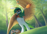 Decidueye to the rescue! by Selven7