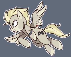 Shiz, I'm Late for Pony School! by MBPanther