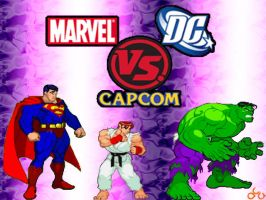 DC vs Marvel vs Capcom Teaser by anubis55