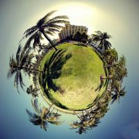 Beach Resort 360 planet by LiviuSquinky