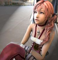 HQ Serah Farron Portrait by Kukla-Factory