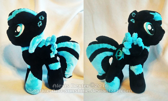 Custom Pony Plush - Axent by Sparkle-And-Sunshine