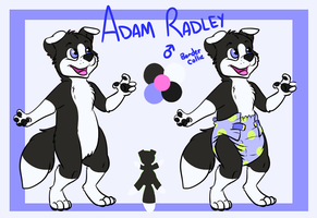 Adam Radley: The giant Baby Collie by nh63879