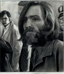 charles manson in court house by beckhanson