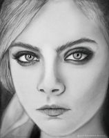 Cara Delevingne 2 by MohammadMirzaee