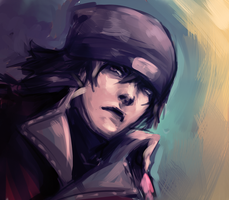 Shinjiro Aragaki by gravitybeams