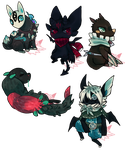 Painted Mini Commissions OPEN paypal/points by empiredog