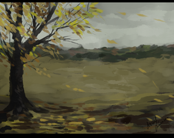 Autumn Fall Of The Leaves by LowerSun