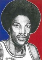 Julius Erving by JRosales1