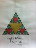 Our Awesome Friend, Sierpinski's Triangle!! by Psycheheart