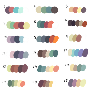 FreeToUse - Colour Palette! by dexikon