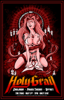 Holy Grail Gig Poster 2011 by luvataciousskull