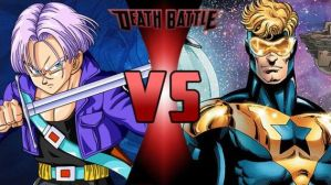 Trunks vs Booster Gold (New Version) by FEVG620