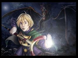Ivan from Golden Sun by rebenke