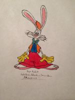 Roger Rabbit my version colored  by JHMirda