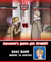 Smack Down -Round 2- by Arkham-Insanity