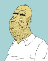 Homer J. Simpson by HanzSolo