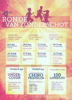 Ronde poster by Pavlovhadgeenkat