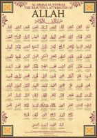 99 Names of Allah by billax