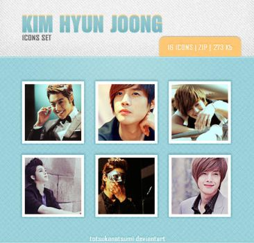 Kim Hyun Joong avatars set2 16 pic. by Minyoung-ssi