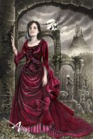 Commissioned Gothic Portrait by AnimaEterna