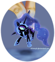 Oh lookie, Nightmare Moon by ZymonasYH