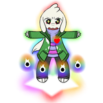 Rainbows ~ Featuring Northy (Small\Transparent) by Zephyter0