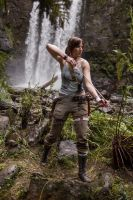Lara Croft: Arrow Nocked by JennCroft