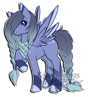 Pony Adopt: LeluKitakaze by Kuro-Creations