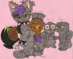 [Fanart] Germaine and the Squirrels by dragonpop1