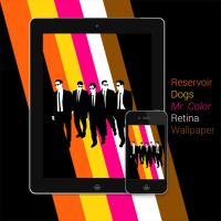 Reservoir Dogs - Mr. Color Retina devices by Nabucodorozor