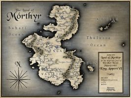 The Land of Morthyr by Gllfryn
