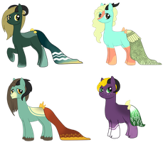 Kleidae Ponies - DTA Contest - CONTEST OVER by qbrandt