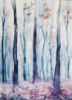 red forest by Kapote
