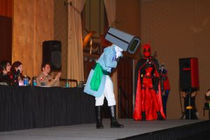 Rhode Island Comic Con 2013 - Prince Robot IV 2 by VideoGameStupid