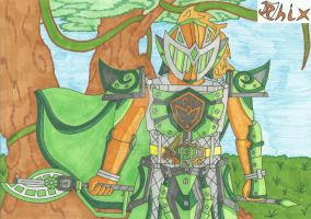 Kamen Rider Suppai Victory Arms by RiderRhix